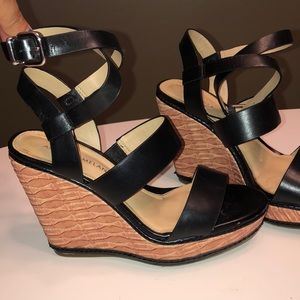 Antonio Melanie Ankle Wrap Wedges